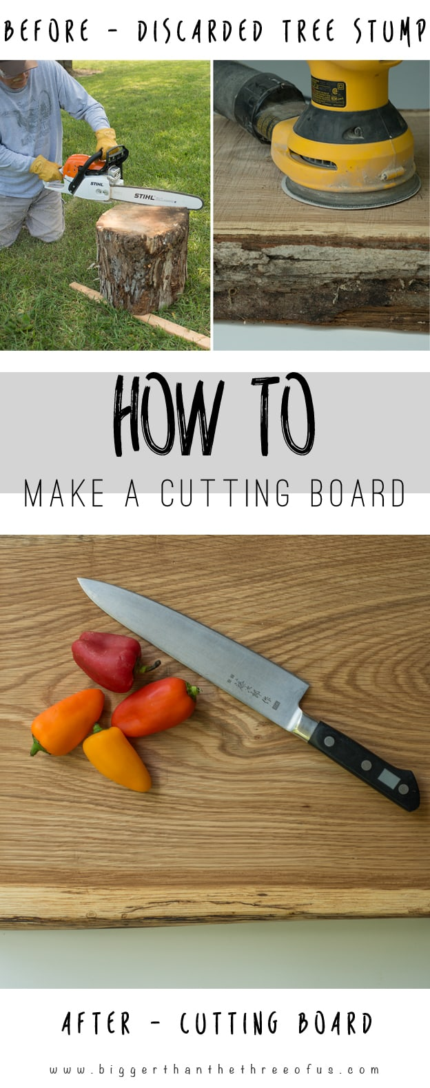 This tutorial will show you How to Make a Cutting Board... it's easy!