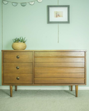Mid-Century Dresser for The Master Bedroom
