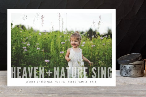 Non-Traditional Christmas Cards by Minted