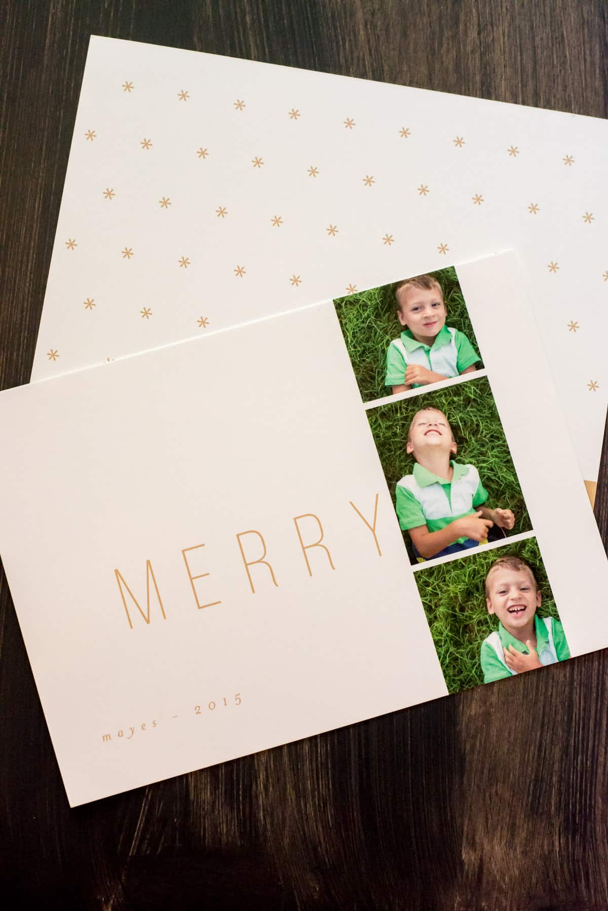 modern non traditional christmas cards for the modern mom - Non Photo Christmas Cards