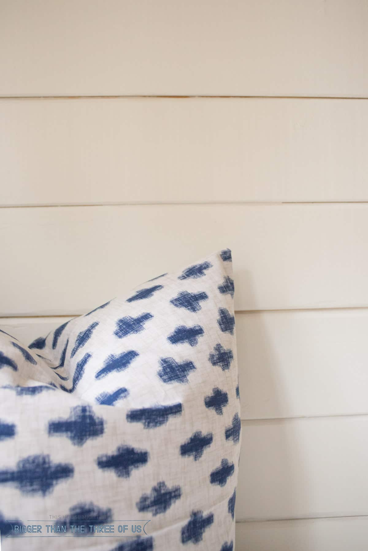 DIY Pillows for Bench Seat
