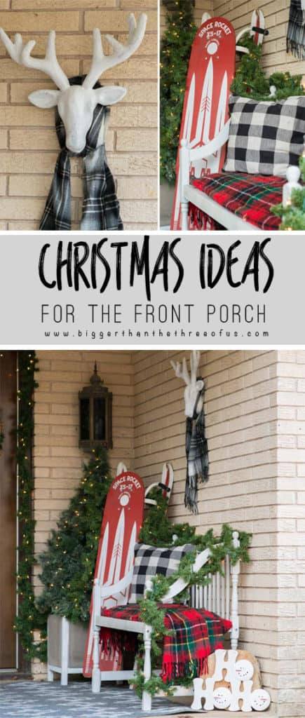 Decorating Your Front Porch For Christmas | Christmas Front Porch | Front Porch Christmas #Christmas #christmasdecor #frontporch