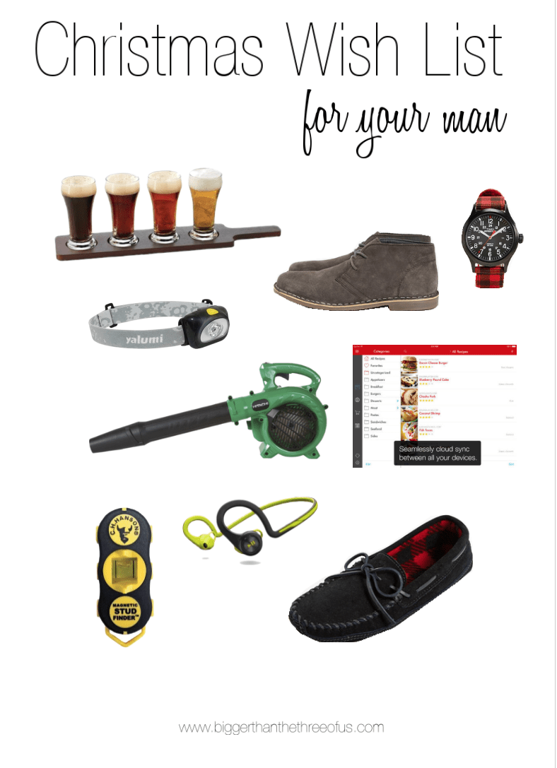 Need a great gift for your man? I have a terrific guide for you!