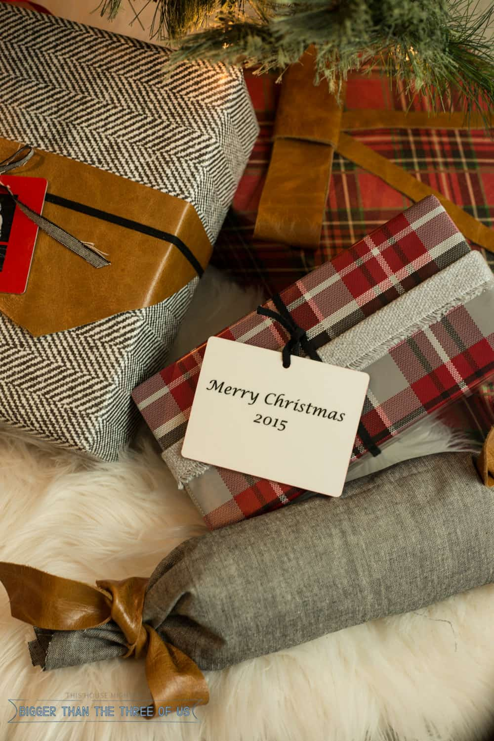 Trim Your Christmas Packages with affordable Photo ornaments