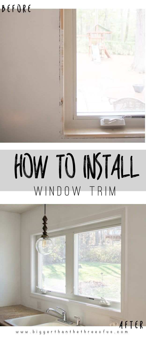 This How-To Tutorial will show you How to install Interior Window Trim. It's easier than you'd think.