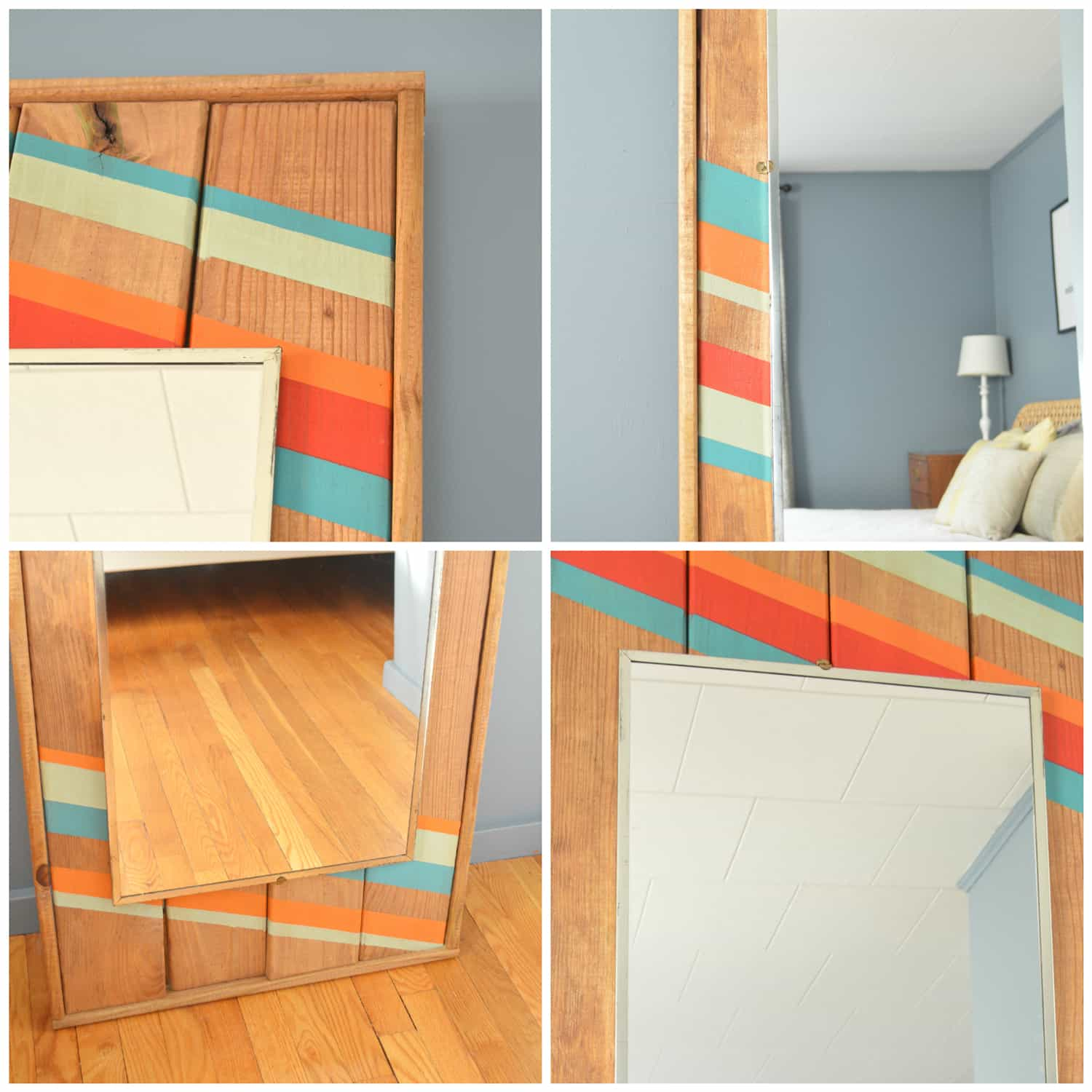 DIY Wood Mirror Tutorial