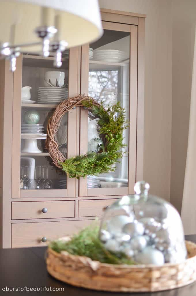 Simple DIY Evergreen Wreath