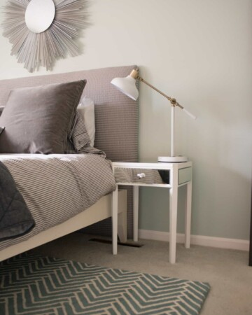Table Lamp options for a light and airy master bedroom
