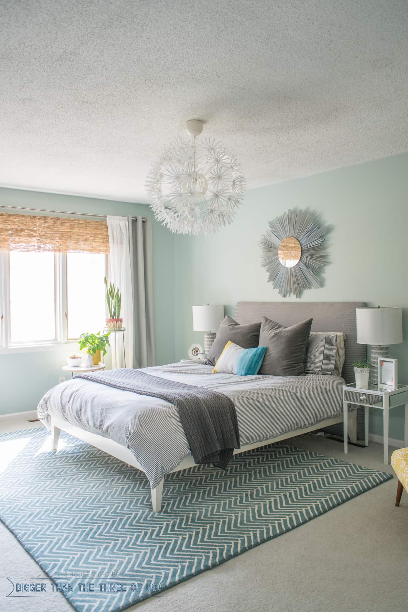 Dreamy Bohemian Bedroom Design - Bigger Than the Three of Us