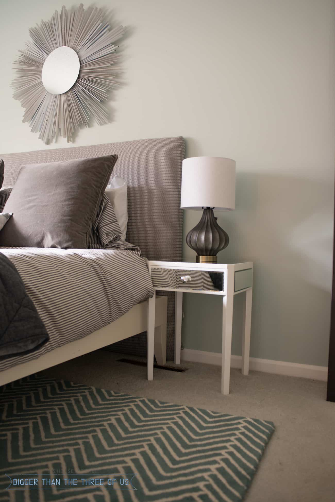 Night stand possibilities in the master bedroom