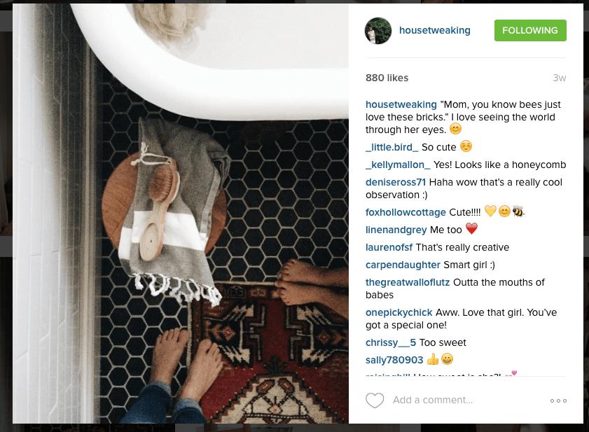 Instagram Follow - @HouseTweaking