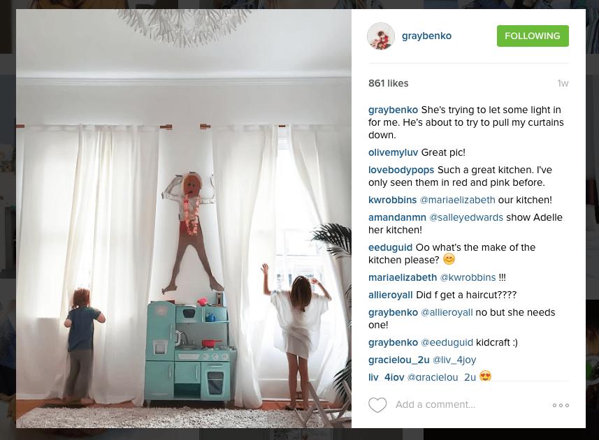 Instagram - Gray Benko