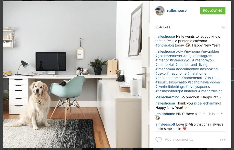 Instagram - Nalles House