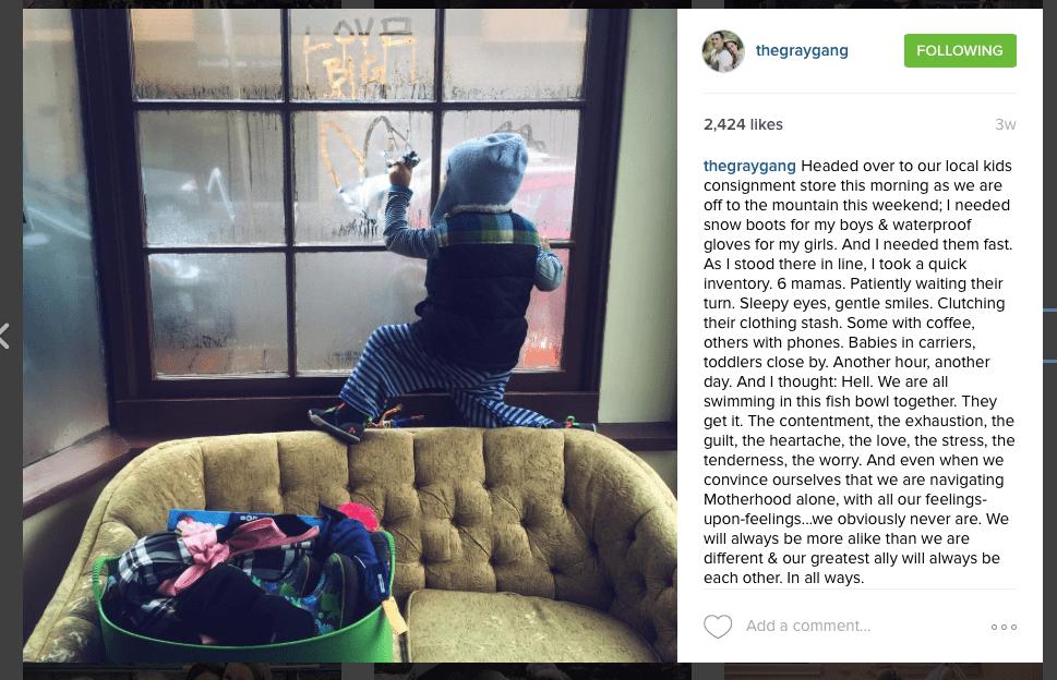 Instagram - The Gray Gang