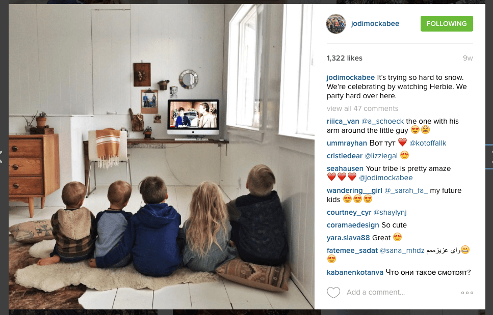 Instagram - Jodi Mockabee