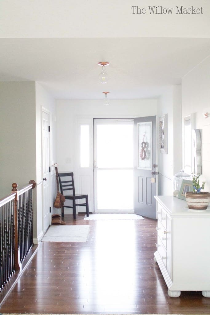DIY Light and Bright Entry Makeover