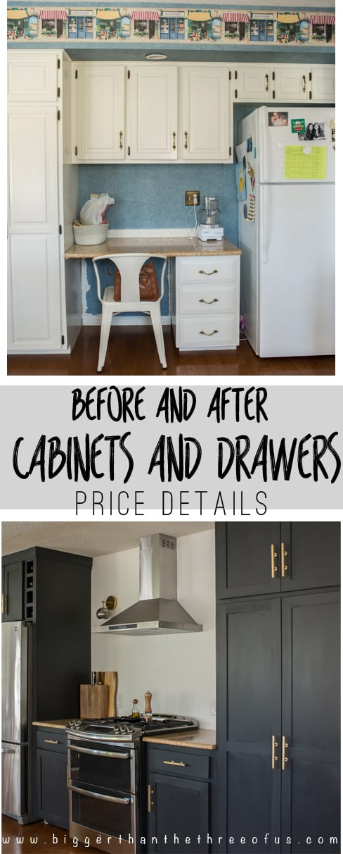 Custom diy kitchen doors and cabinets all the details on for Cost of new cabinet doors and drawers