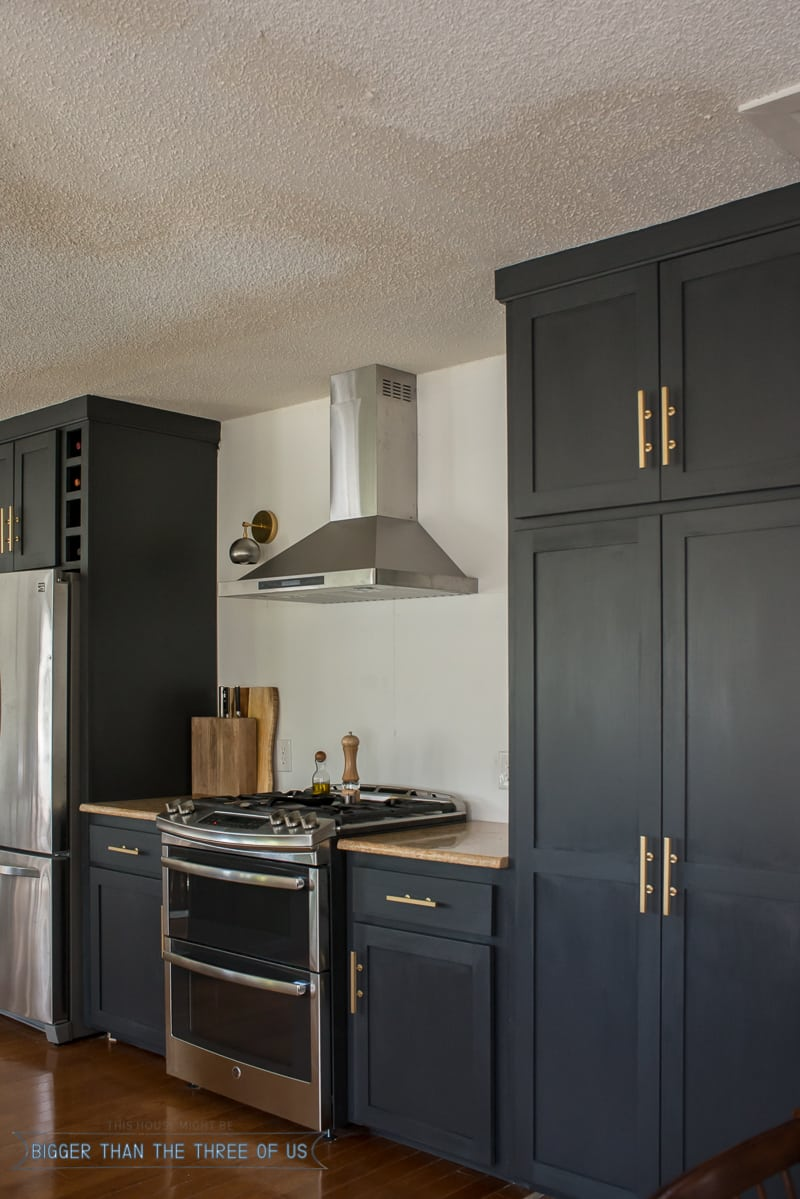All the details on semi-custom kitchen cabinets and doors.