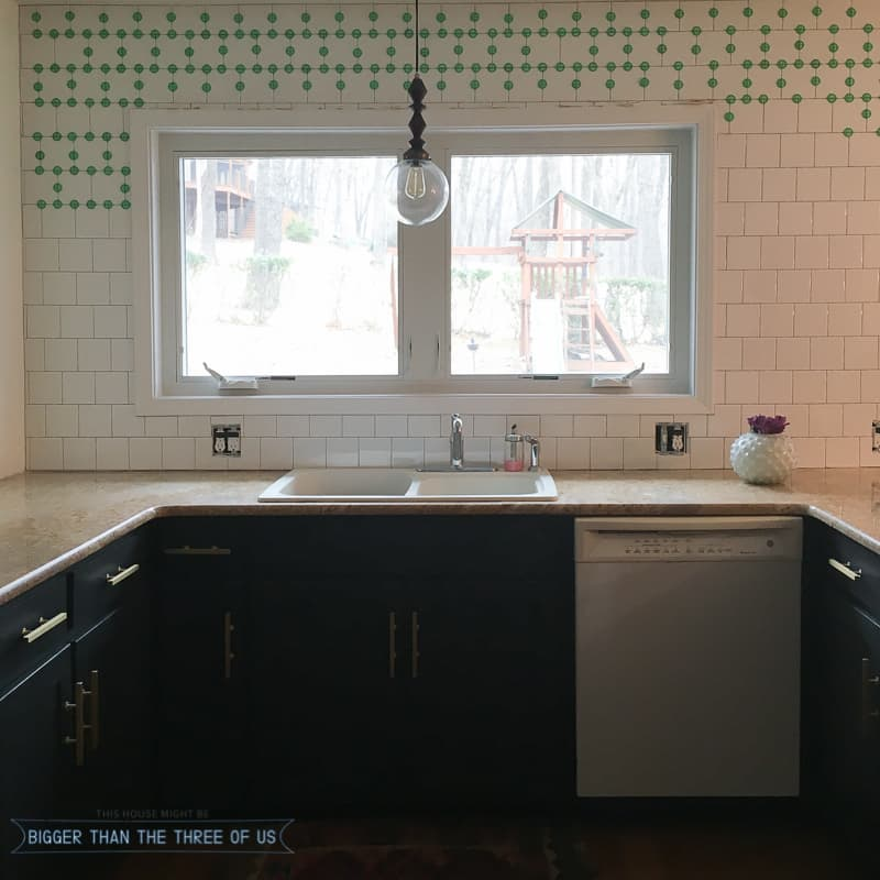Our Progress with Tiling our Kitchen
