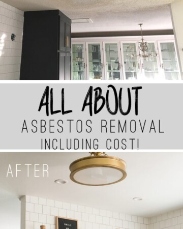 All About Asbestos Removal including Cost!