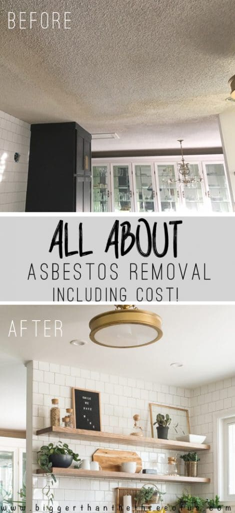 All About Asbestos Removal Including Cost
