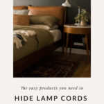 table lamp cord organization