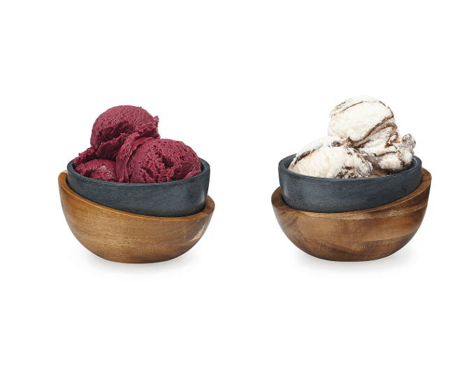 Hot and Cold Ice Cream Bowls