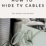 Media cable organization how to