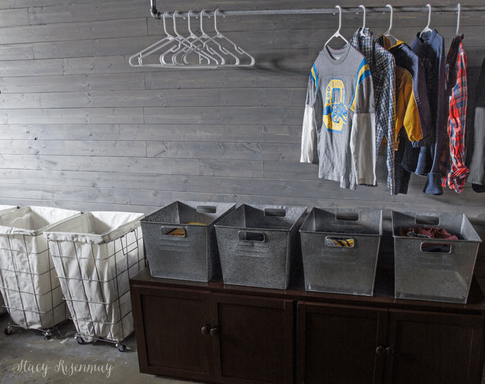 Laundry room home tour