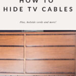 How to Hide TV Cables