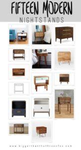 15 modern nightstands for your bedroom!