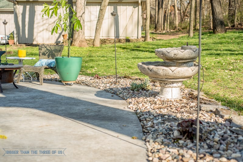 Landscaping With Stone Mulch Pictures : The creative gallery bigger than three of us
