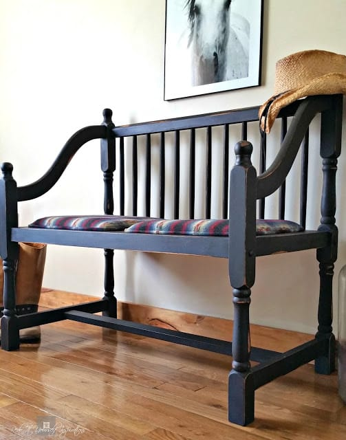 Before/After Bench Repurpose