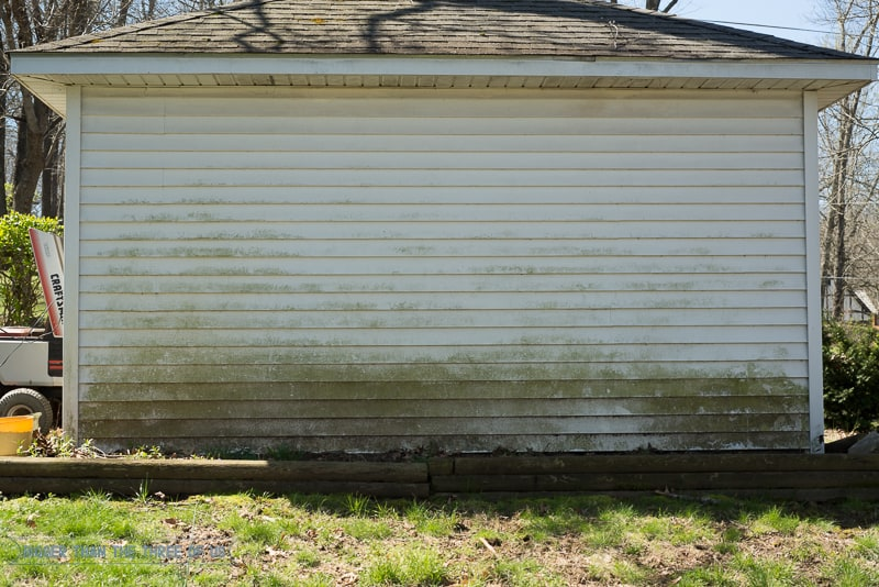 You can clean your siding without a power washer! It's not hard - click to find out exactly how clean siding without a power washer!