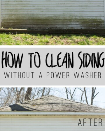 You DON'T Need a Power Washer to Clean Your Siding. Click to find out more!