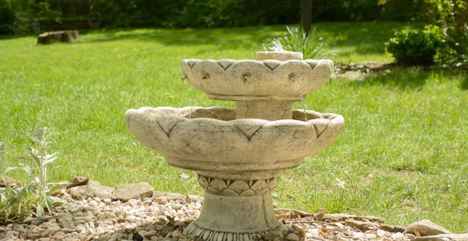 How To Run and Maintain an Outdoor Fountain