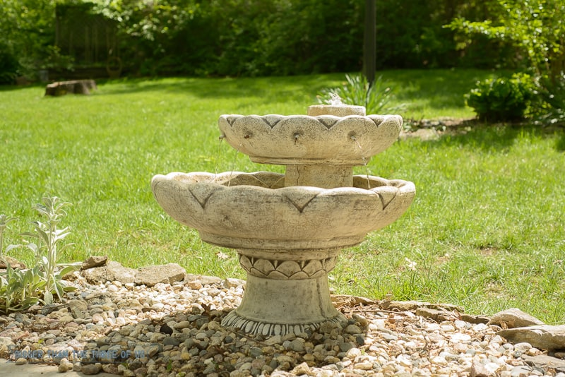 How to Care and Maintain an Outdoor Fountain-1-2