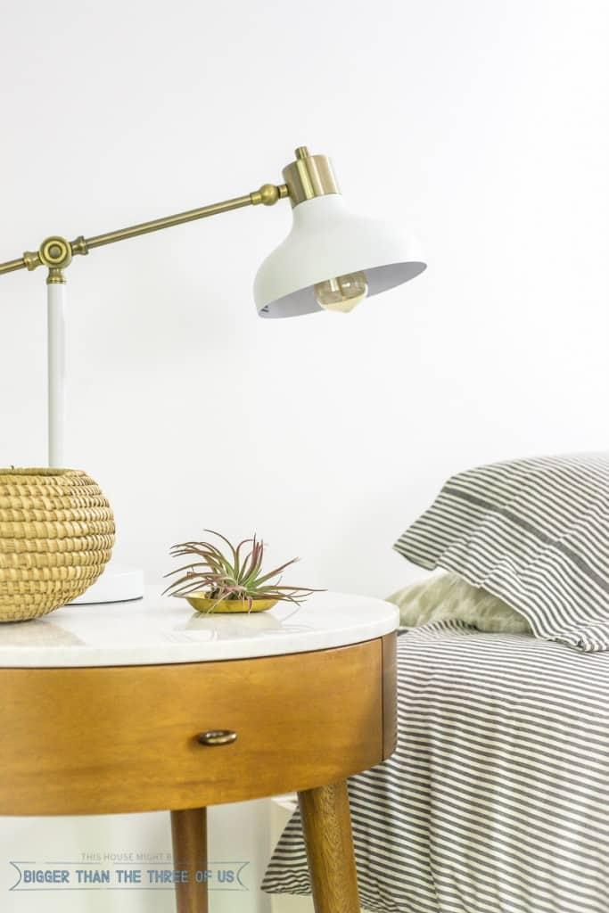 Light and Bright Mid-Century Master Bedroom