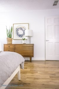 Bigger than the three of us for Mid century modern master bedroom
