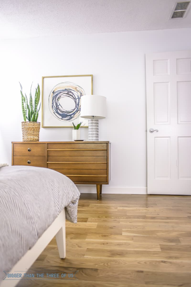 Mid Century Modern Master Bedroom Bigger Than The Three Of Us