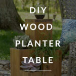 table planter diy