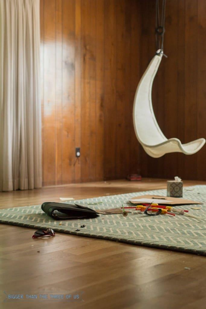 rug pad and rug for playroom