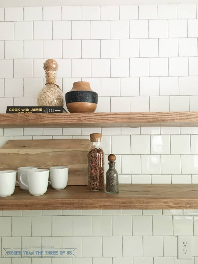 How To Install Heavy Duty Floating Shelves For The Kitchen Custom Easy To Install Floating Shelves