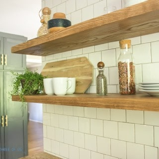How to Install Heavy Duty Kitchen Shelves