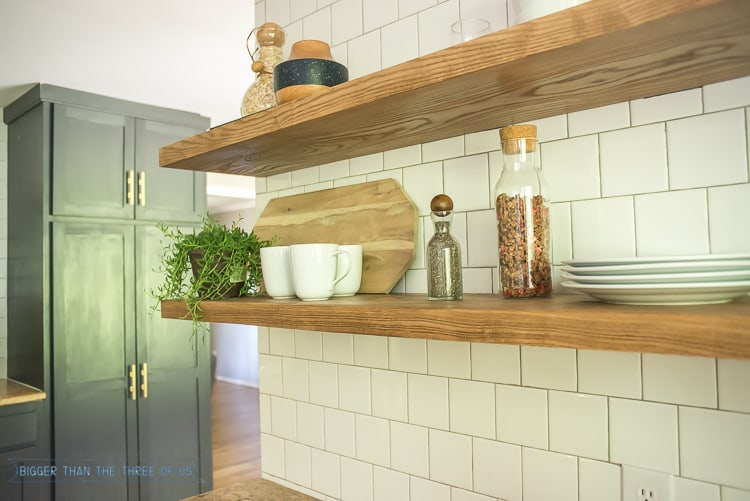 How To Install Heavy Duty Floating Shelves For The Kitchen Best How Are Floating Shelves Attached