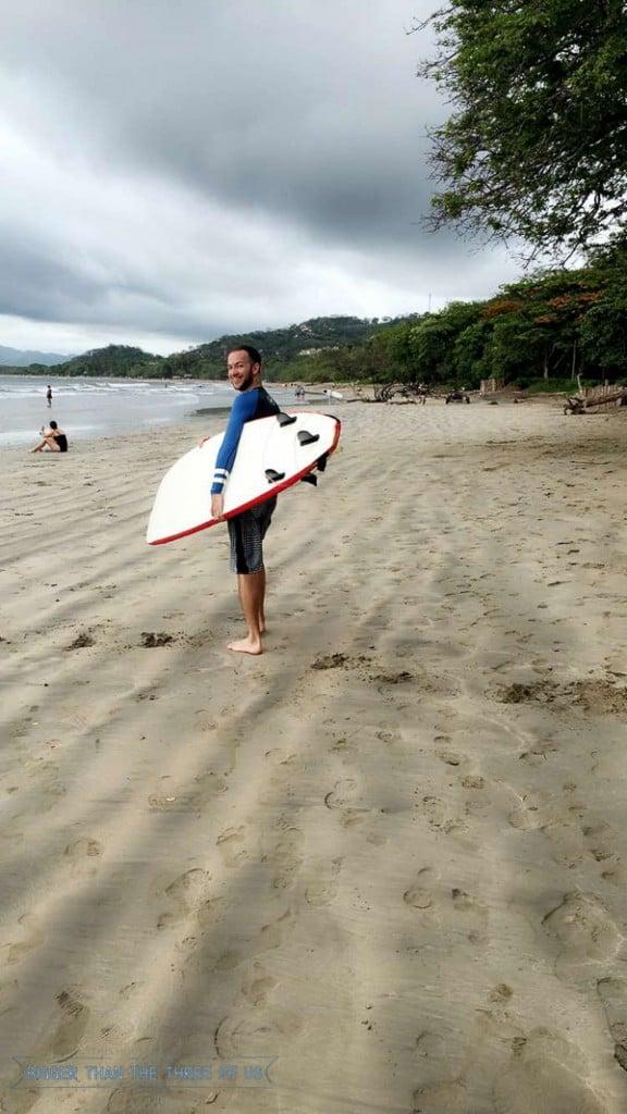 Traveling to Tamarindo, Costa Rica