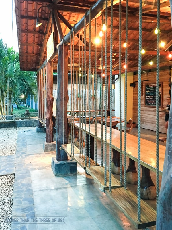 Fun restaurant in Tamarindo, Costa Rica