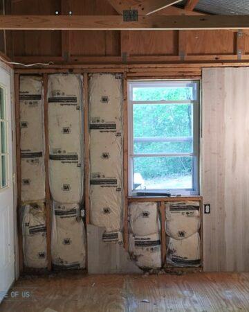 cabin renovation demolition