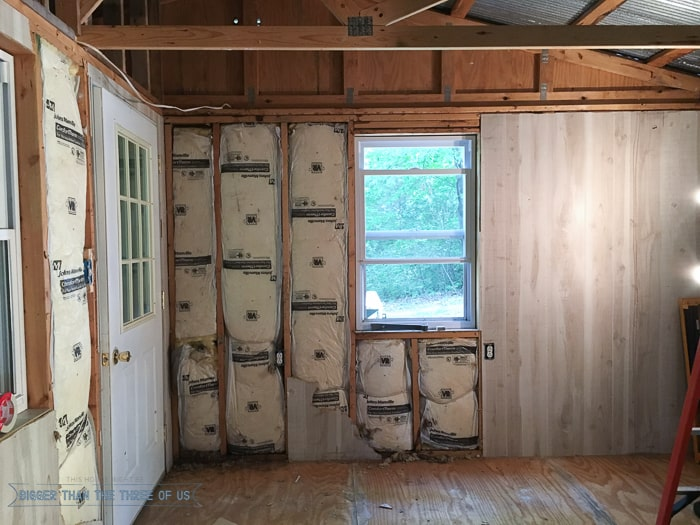 cabin renovation demolition