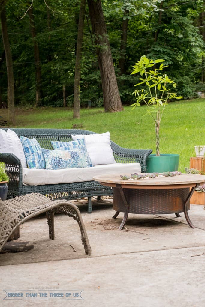 Modern and Bright Patio Reveal